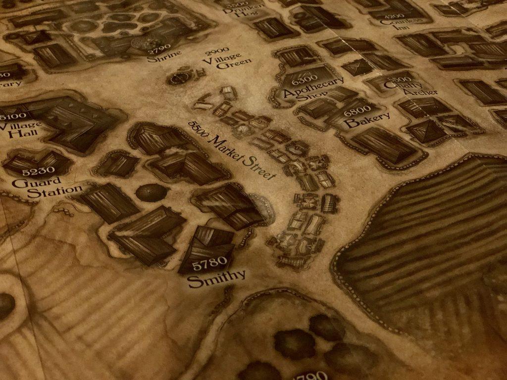 Dragonholt Map