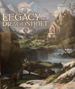 Legacy of Dragonholt box art