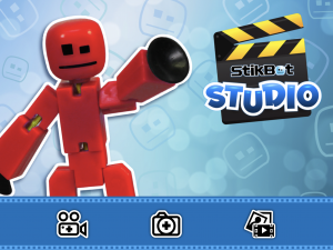 Screenshot of the Stikbot Studio App