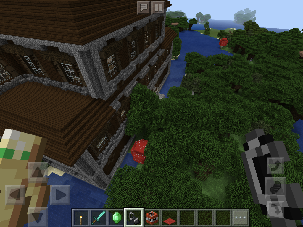 Minecraft woodland mansion